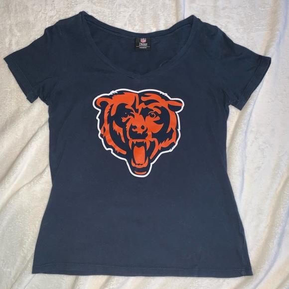 0b1266d0 NFL Team Apparel Women's Chicago Bears Tee